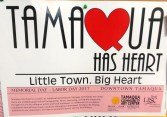 Tamaqua Has Heart, Little Town, Big Heart, PA